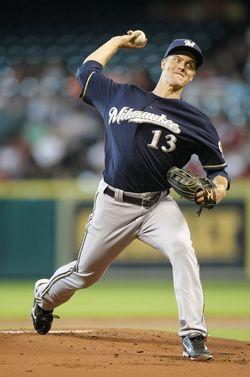 Zack Greinke - Brewers (PW)