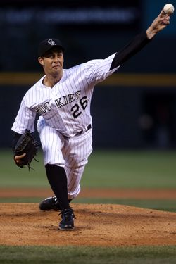 Jeff Francis - Rockies (PW)
