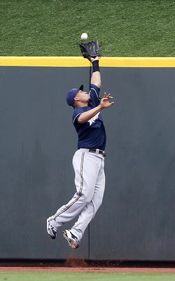 Carlos Gomez - Brewers (PW)